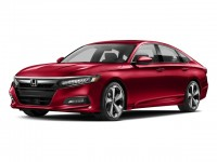 New, 2018 Honda Accord Sedan Touring 2.0T Auto, Red, 187037-1