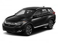 New, 2018 Honda CR-V Touring AWD, Black, 180970-1