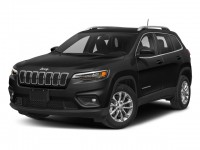 New, 2019 Jeep Cherokee Latitude Plus, Black, JK386-1