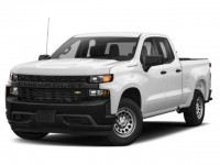 New, 2019 Chevrolet Silverado 1500 Custom Trail Boss, White, 19C916-1