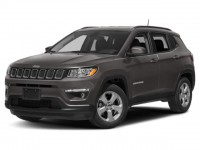 Certified, 2019 Jeep Compass Latitude, White, JL166A-1