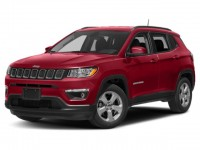 New, 2019 Jeep Compass Latitude, Red, JK222-1