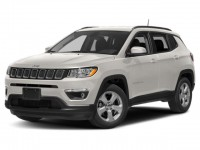 New, 2019 Jeep Compass Limited, White, JK344-1