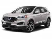 Used, 2019 Ford Edge Titanium, White, HP56897-1