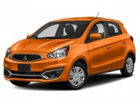 New, 2019 Mitsubishi Mirage ES, Orange, 16625-1