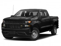 New, 2020 Chevrolet Silverado 1500 Custom, Black, 20C687-1