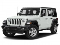 New, 2020 Jeep Wrangler Unlimited Sahara 4x4, White, C20J320-1