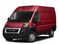 "New, 2020 Ram ProMaster Cargo Van 2500 High Roof 136"" WB, Red, DL120-1"