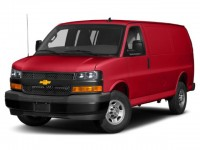 "New, 2020 Chevrolet Express Cargo Van RWD 2500 155"", Red, 20C724-1"