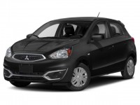 New, 2020 Mitsubishi Mirage ES, Black, 16618-1
