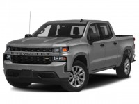 New, 2021 Chevrolet Silverado 1500 Custom, Gray, 21C92-1