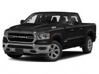 New, 2021 Ram 1500 Big Horn, Black, DM190-1