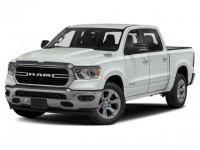 New, 2021 Ram 1500 Big Horn, White, D21D24-1