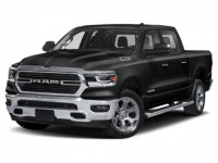New, 2021 Ram 1500 Big Horn, Black, DM147-1