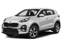 New, 2021 Kia Sportage LX, Black, 21K228-1