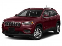 New, 2021 Jeep Cherokee Latitude, Red, JM115-1