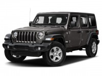 New, 2021 Jeep Wrangler Willys, Gray, JM347-1
