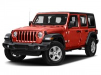 New, 2021 Jeep Wrangler Willys, Red, JM128-1