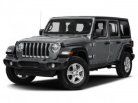 New, 2021 Jeep Wrangler Unlimited Sahara, White, JM427-1