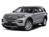 New, 2021 Ford Explorer XLT, Blue, HD24027-1