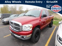 Used, 2008 Dodge Ram 1500 SLT, Red, STK616044-1