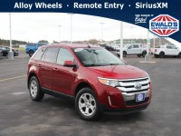 Used, 2013 Ford Edge SEL, Red, H23554A-1