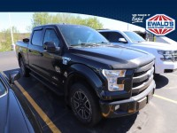 Used, 2015 Ford F-150 Lariat, Black, H56776A-1