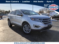 Used, 2016 Ford Edge SEL, Silver, HP56267-1