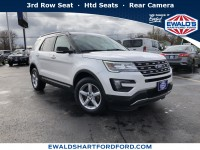 Used, 2016 Ford Explorer XLT, White, H21782A-1