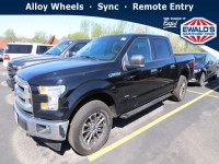 Used, 2017 Ford F-150 XLT, Black, HP56871-1