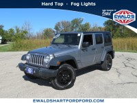 Used, 2017 Jeep Wrangler Unlimited Sport, Silver, H22522A-1