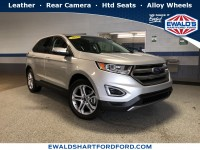 Used, 2018 Ford Edge Titanium, Silver, HP56278-1