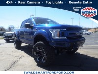 New, 2018 Ford F-150 XLT, Blue, SCA18857-1