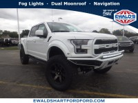 New, 2018 Ford F-150 Raptor, White, SCA19602-1