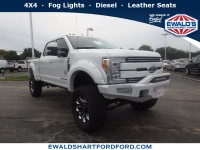 New, 2018 Ford Super Duty F-250 SRW Lariat, White, SCA19675-1