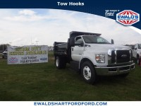 New, 2018 Ford Super Duty F-650 Straight Fram Reg Cab, White, HA19570-1