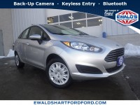 New, 2019 Ford Fiesta S, Silver, HB20231-1