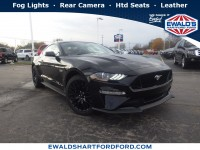 New, 2019 Ford Mustang GT Premium, Black, HB20034-1
