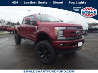 New, 2019 Ford Super Duty F-250 SRW LARIAT, Red, SCA19990-1