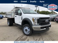 New, 2019 Ford Super Duty F-450 DRW Chassis C XL, White, HB21453-1
