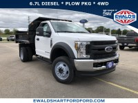 New, 2019 Ford Super Duty F-450 DRW XL, White, HB21397-1
