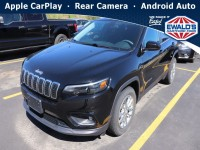 Used, 2019 Jeep Cherokee Latitude, Black, H24140B-1