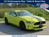 New, 2021 Ford Mustang, Yellow, HD24039-1