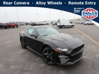 New, 2021 Ford Mustang, Black, HD24040-1