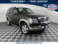 Used, 2008 Ford Explorer Eddie Bauer, Green, P16778A-1