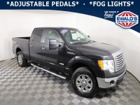 Used, 2011 Ford F-150 XLT, Black, E13821A1-1