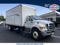Used, 2011 Ford Super Duty F-750 Straight Fram, White, P16852-1
