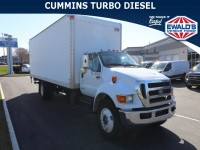 Used, 2012 Ford Super Duty F-750 Straight Fram, White, P16290A-1