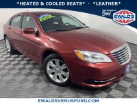 Used, 2013 Chrysler 200 Touring, Red, P15970-1