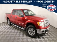 Used, 2013 Ford F-150, Red, DD13768A-1